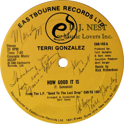 Terri Gonzalez How Good It Is