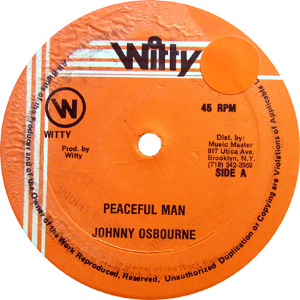 johnny osbourne peaceful man