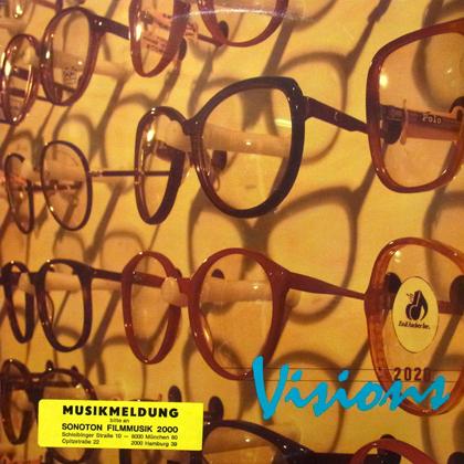 TOM JENKINS, BARRY SCHLEIFER / VISIONS [USED LP]