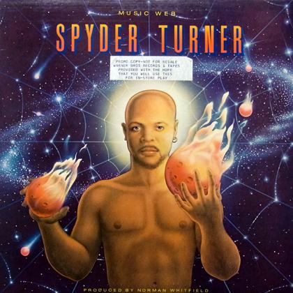 SPYDER TURNER / MUSIC WEB [USED LP]