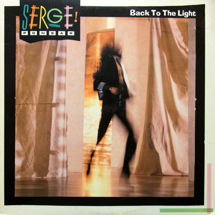 SERGE PONSAR / BACK TO THE LIGHT [USED LP]