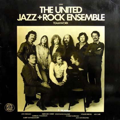 THE UNITED JAZZ+ROCK ENSEMBLE / TEAMWORK
