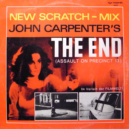 JOHN CARPENTER / THE END