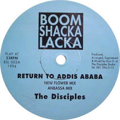 THE DISCIPLES / RETURN TO ADDIS ABABA, AFRICA MACKA