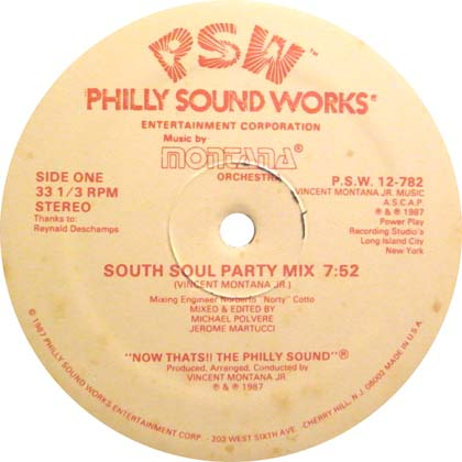 MONTANA ORCHESTRA / SOUTH SOUL PARTY MIX