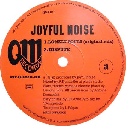 JOYFUL NOISE / LONELY SOULS