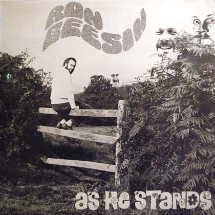 RON GEESIN / AS HE STANDS