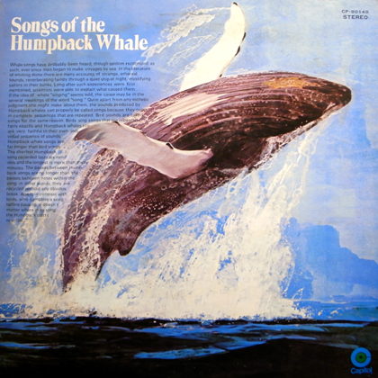 HUMPBACK WHALE / SONGS OF THE HUMPBACK WHALE