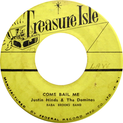 JUSTIN HINDS & THE DOMINOS / COME BAIL ME