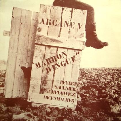 ARCANE V / MARRON DINGUE