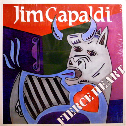 JIM CAPALDI / FIERCE HEART