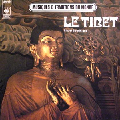 LE TIBET - RITUEL BOUDHIQUE