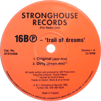 16BⓅ / TRAIL OF DREAMS