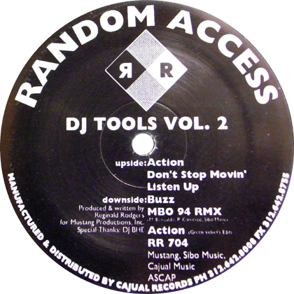 RANDOM ACCESS / DJ TOOLS VOL.2