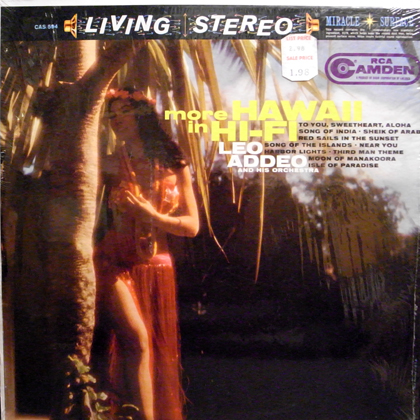 LEO ADDEO AND HIS ORCHESTRA / MORE HAWAII IN HI-FI