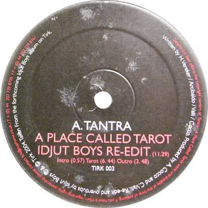 TANTRA, SANDY'S GANG / A PLACE CALLED TAROT, HUNGRY