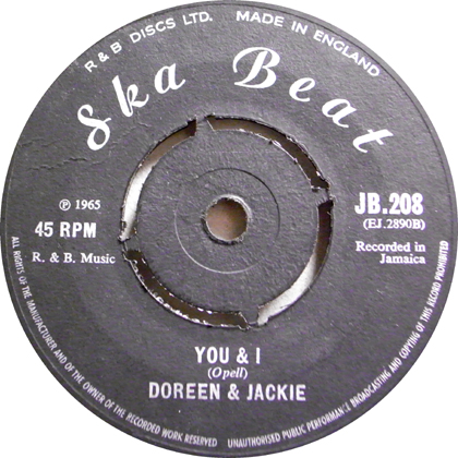 DOREEN & JACKIE / WELCOME HOME, YOU & I
