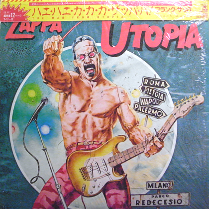 FRANK ZAPPA / THE MAN FROM UTOPIA
