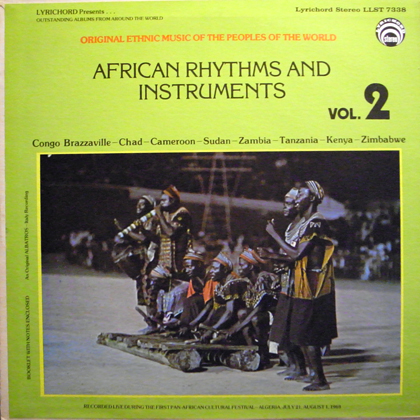 V.A. / AFRICAN RHYTHMS AND INSTRUMENTS VOL.2