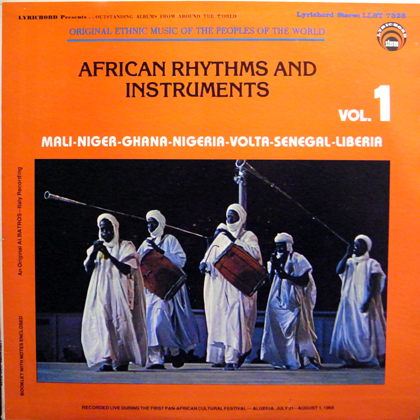 V.A. / AFRICAN RHYTHMS AND INSTRUMENTS VOL.1