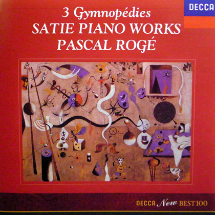 PASCAL ROGE / 3 GYMNOPEDIES SATIE PIANO WORKS