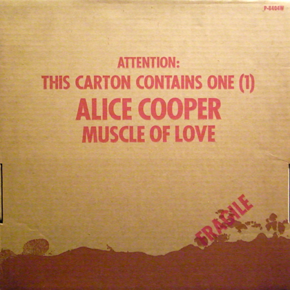 ALICE COOPER / MUSCLE OF LOVE