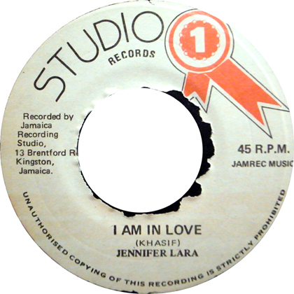 JENNIFER LARA / I AM IN LOVE