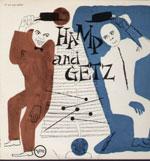 STAN GETZ,LIONEL HAMPTON/HAMP AND GETZ[LP]