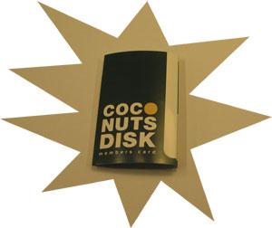 ココナッツディスクのスタンプカード
