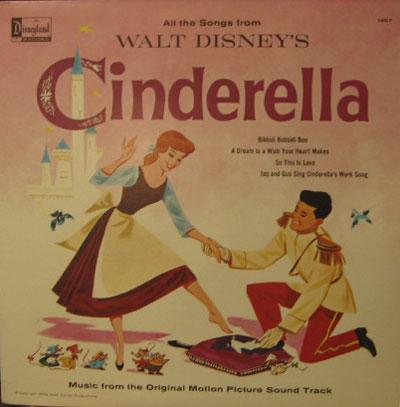 ILENE WOODS/'CINDERELLA' OST[LP]