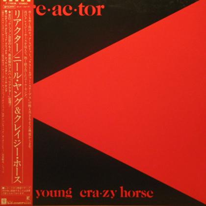ニール・ヤング&クレイジー・ホース / リアクター [USED LP]... COCON