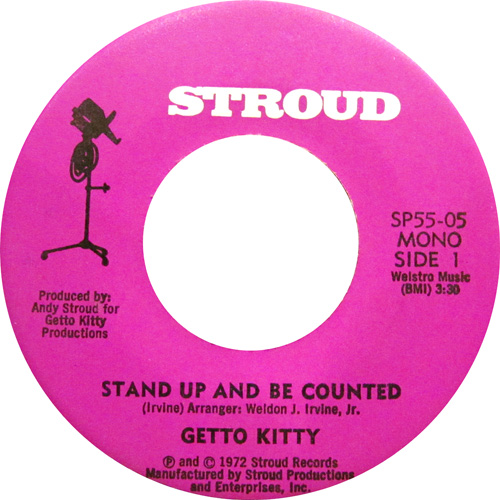 GETTO KITTY / STAND UP AND BE COUNTED