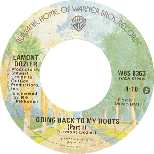 LAMONT DOZIER / GOING BACK TO MY ROOTS
