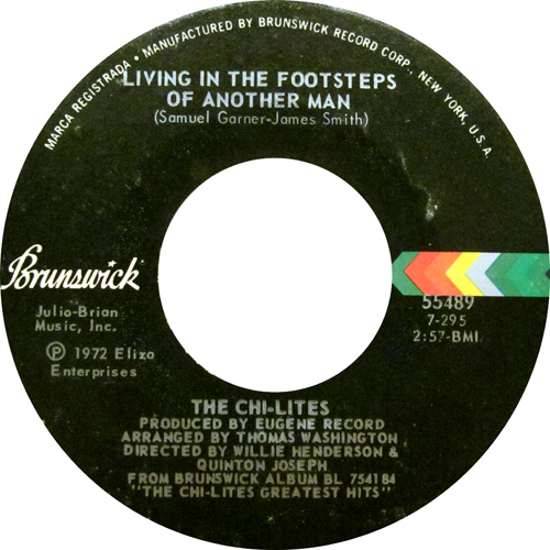 THE CHI-LITES / WE NEED ORDER