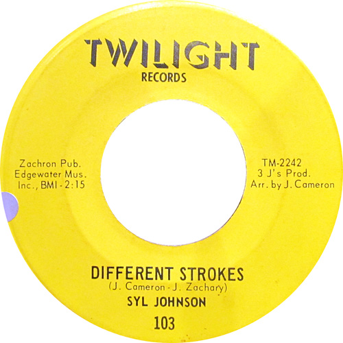 SYL JOHNSON / DIFFERENT STROKES