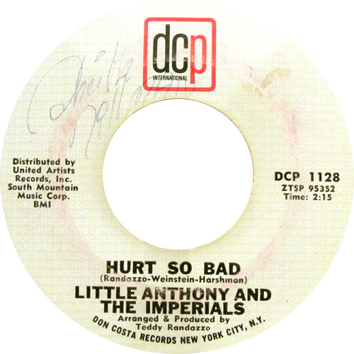 LITTLE ANTHONY AND THE IMPERIALS / HURT SO BAD
