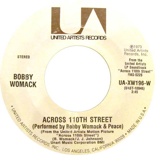 BOBBY WOMACK / ACROSS 110TH STREET