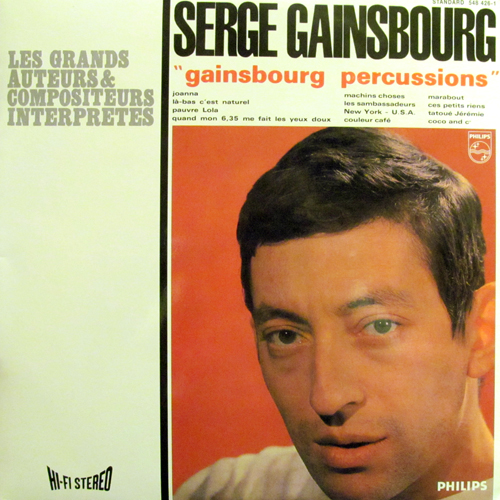 SERGE GAINSBOURG / GAINSBOURG PERCUSSIONS