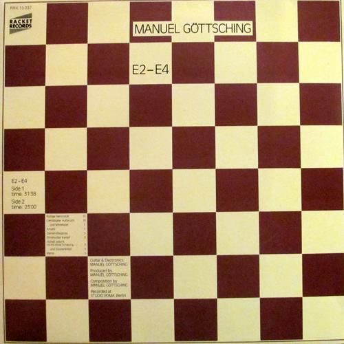 MANUEL GOTTSCHING / E2-E4