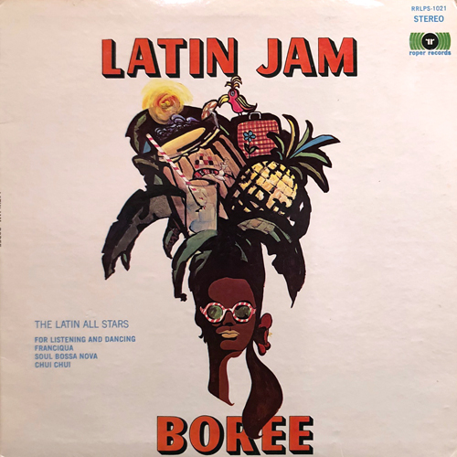THE LATIN ALL STARS / LATIN JAM BOREE