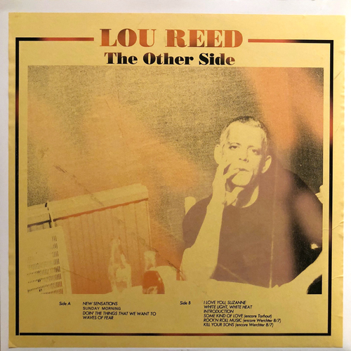 LOU REED / THE OTHER SIDE