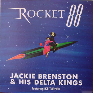 JACKIE BRENSTON & HIS DELTA KINGS/ROCKET 88[USED LP/JPN]