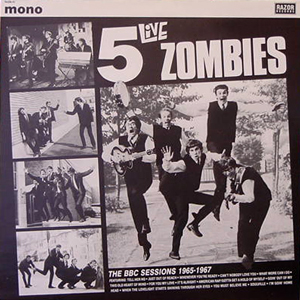 THE ZOMBIES/5 LIVE ZOMBIES[USED LP/UK]