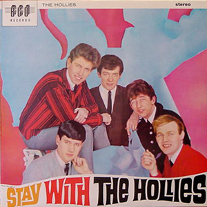 THE HOLLIES/STAY WITH THE...[USED LP/UK]