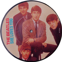 THE BEATLES / SHE LOVES YOU [USED 7'/UK]