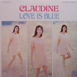 CLAUDINE LONGET / LOVE IS BLUE [USED LP/JPN]  1890円