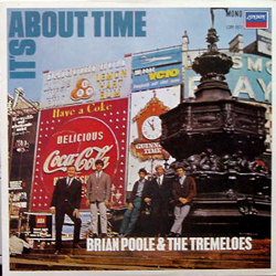 BRIAN POOL & THE TREMELOES / IT'S ABOUT TIME [USED LP/JPN]  1680円