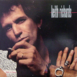 KEITH RICHARDS /TALK IS CHEAP [USED LP/US]  1050円