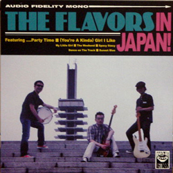 THE FLAVORS / THE FLAVORS IN JAPAN! [NEW CD-R/JPN] 1500円