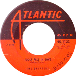 THE DRIFTERS / FOOLS FALL IN LOVE [USED 7/US]